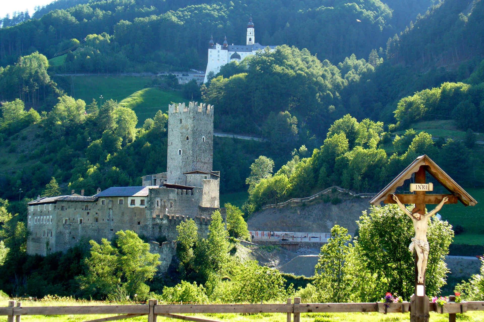 Benedictine abbey Marienberg Burgeis