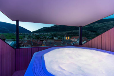 Glurns Wellnesshotel Panorama Whirlpool