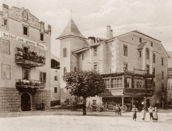 L'Albergo Albero Verde ed il Palazzo di Glorenza